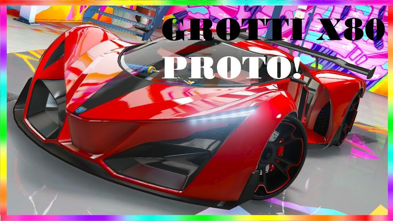 GTA 5 Online: Grotti X80 Proto Full Customization (GTA 5 ...