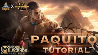 MLBB TRAINING GROUNDS: TUTORIAL HERO PAQUITO TERBARU 2021