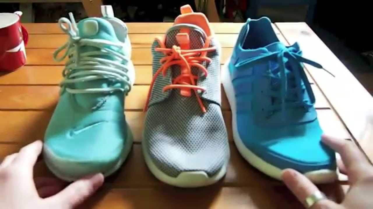adidas zx flux vs pure boost