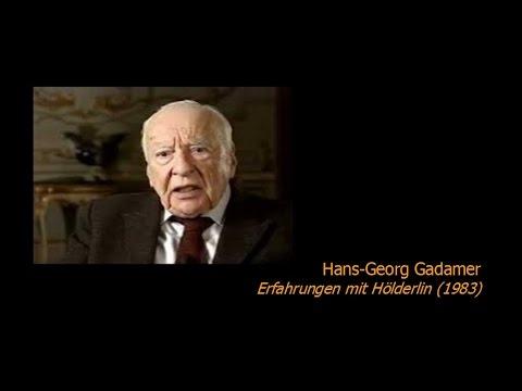 Hans-Georg Gadamer - Erfahrungen mit Hölderlin (1983)