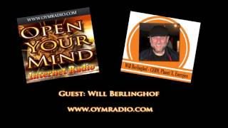 Open Your Mind (OYM) Radio - Will Berlinghof - September 27th 2015