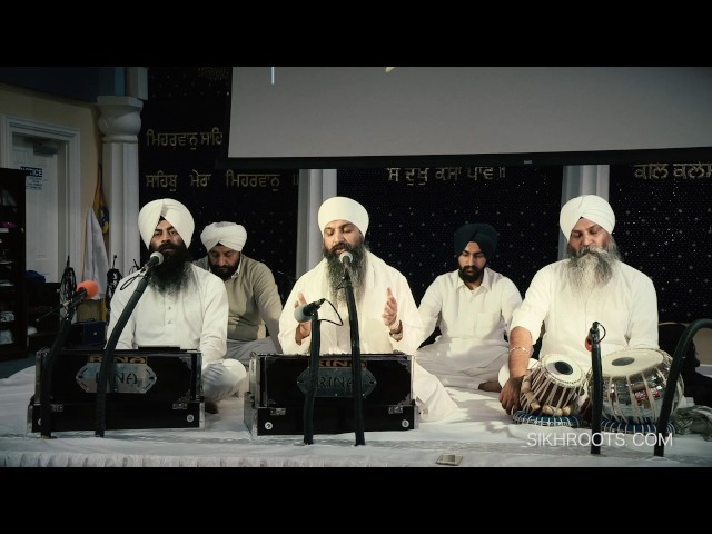 Sant Anoop Singh - Kirtan at San Jose Gurdwara, November 27, 2016
