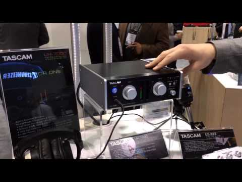 NAMM 2014 TASCAM UH-7000 Audio Interface