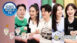 Guests : Boom, Chaeyeon, Yebin, Lee Sagan, Ron [Hello Counselor/ENG, THA/2019.04.01]