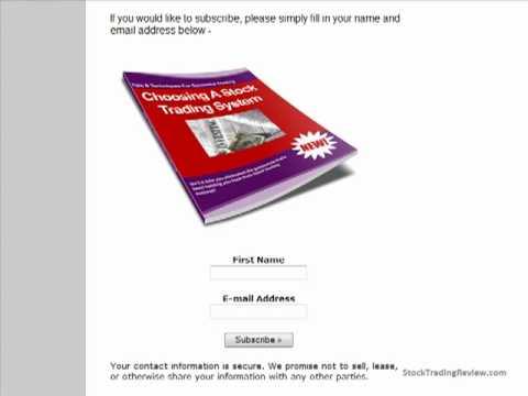 Online Stock Trading Newsletter