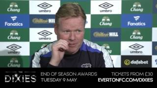 Ronald Koeman's pre-Swansea press conference