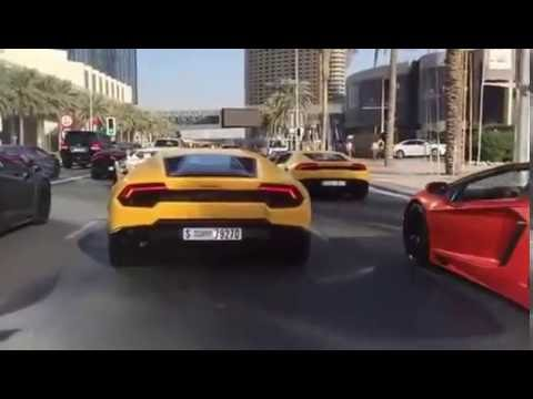 Traffic Jam in Dubai is on Another Level
