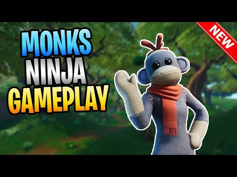 FORTNITE🍌New MONKS Monkey Puppet Ninja🍌Save The World Gameplay