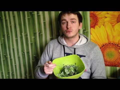 САЛАТ МОНПЕЛЬЕ БЕЛАЯ ДАЧА - салатный микс из лолло-россо, фриссе, романо ☕ вкусный обзор еды