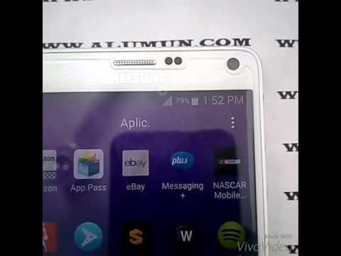 Samsung Galaxy Note 4 SM-N910P (Sprint)  Unlock / Desbloqueo GSM