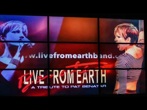 Pat Benatar tribute, LIVE FROM EARTH - Promo Reel