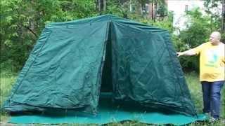 Тент шатер Campack Tent G 3301W (со стенками)(Тент-шатер Campack Tent G-3301W - это отличный способ сделать свой отдых на природе максимально комфортным. Он надежн..., 2015-07-17T15:23:28.000Z)