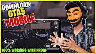 how to download gta 5 on android phone 2020 |download gta5 android 2020| gta5 mobile