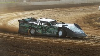 Max Blair Late Model In-Car Camera at Eriez Speedway
