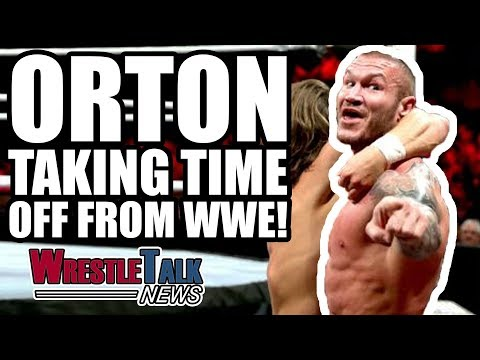 WrestleMania 34 Match SCRAPPED?! Randy Orton Taking Time Off From WWE?! | WrestleTalk News Dec. 2017