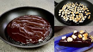 HOW TO COOK CAKE IN FRYING PAN | No Oven Chocolate Cake