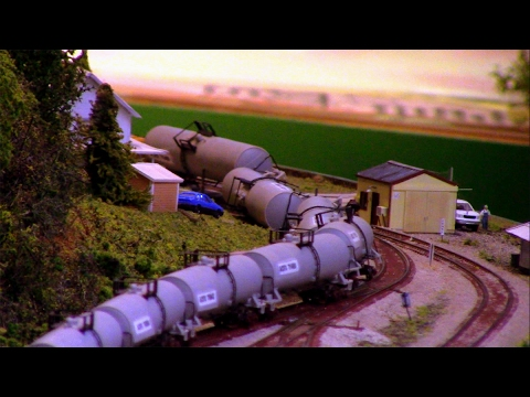 """N Scale: """"KCAMANS"""" Ops session on the Buffalo & Pittsburgh III pt2"""