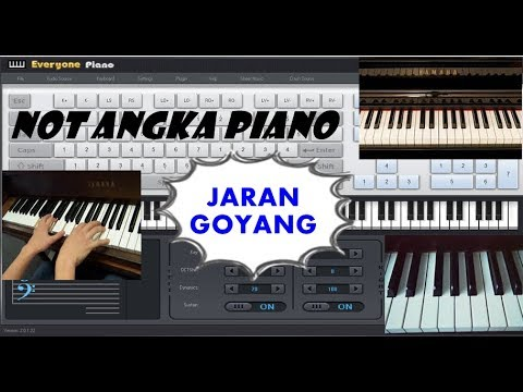 Not Angka Jaran Goyang L Dangdut Youtube