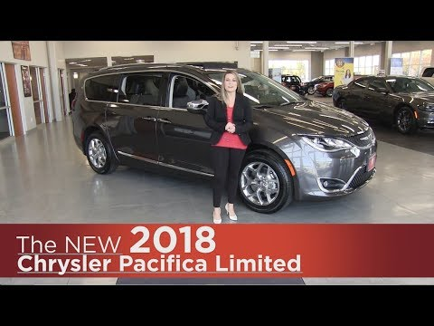 New 2018 Chrysler Pacifica Limited - Minneapolis, Elk River, Coon Rapids, St Cloud, MN | Walk Around