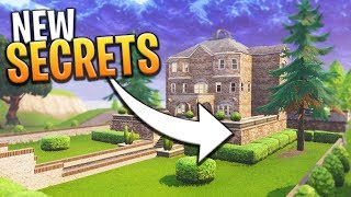 *NEW* SEASON 4 SECRETS AND HIDDEN AREAS - Fortnite: Battle Royale