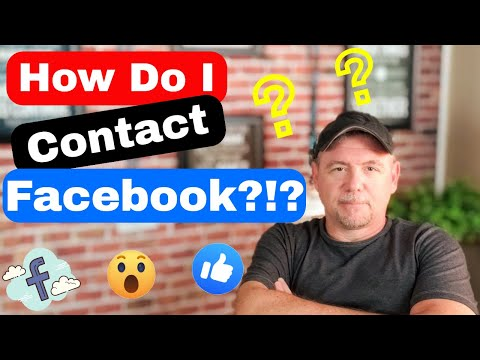 How Do I Contact Facebook?!?