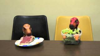 "Dinosaurs at the Office: This Episode ""Lunch"""