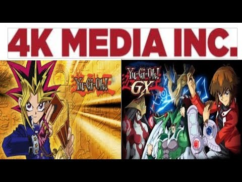 4K MEDIA LICENSING YUGIOH DM + GX TO THE CZECH REPUBLIC, SLOVAKIA AND CHILE