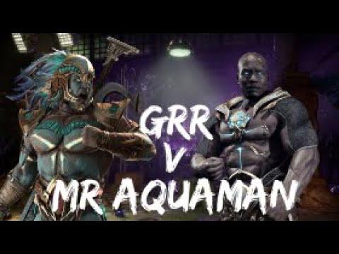 Mr Aquaman (Kotal+) V Grr (Geras+) - Grr Hops On The Mic!