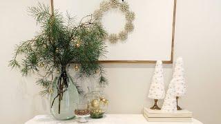 Dicas de Decoração Natalina – com Galhos