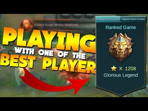Mobile Legends 12th Best Player in The World in My Team! Insane Gameplay!