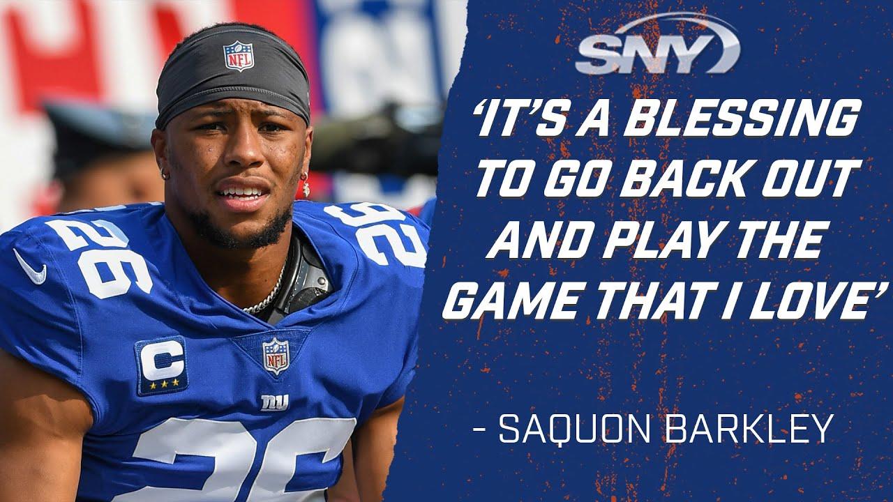 Saquon Barkley (and Fans) Returned. But So Did Last Season's ...