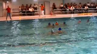 waterpolo zvvs cj 1 tegen de devel cj 1 2016 12 17 periode 2
