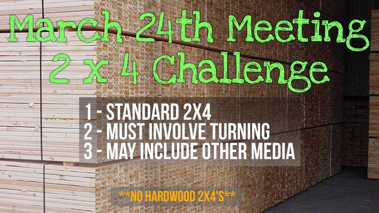2x4 Challenge Woodturners of SW MO