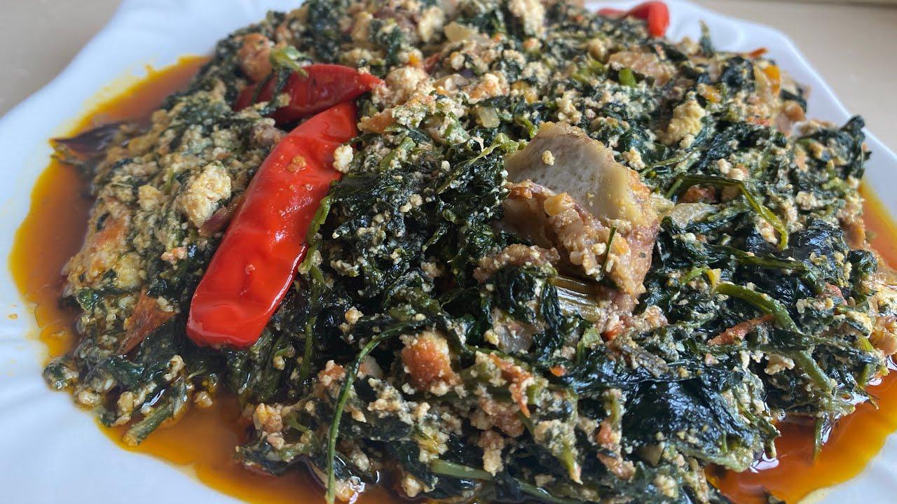 Download How to cook fufu corn and egusi njama-njama
