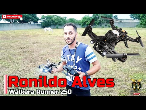 Walkera Runner 250 | Primeiro Vôo Com Drone Racing