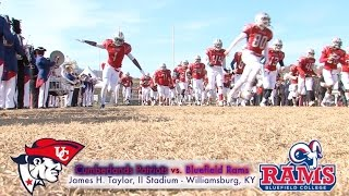University of the Cumberlands  Football vs. Bluefield College 2014
