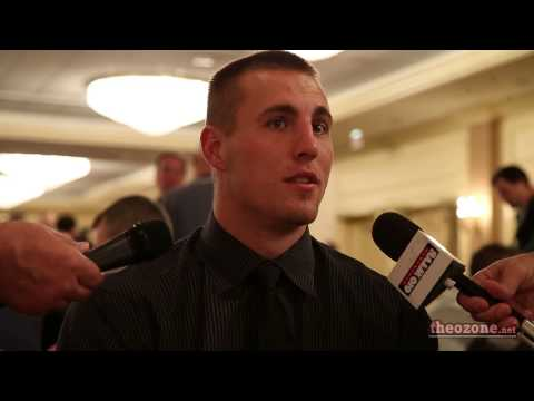 Jeff Heuerman @ B1G Media Day 2
