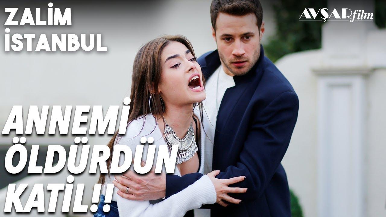Damla ve Civan Öpüştü💑 Al Sana Gitmemek İçin Bir Sebep💖 | Zalim İstanbul 17. Bölüm