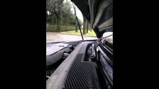 Peugeot 607 V6 HDI, Bruit turbo