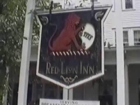 """""""The Red Lion Inn"""" in Stockbridge, Massachusetts"""