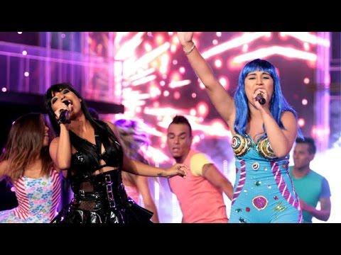 Yo Soy: Katy Perry y Rihanna soltaron energía y fuego con 'Fireworks'