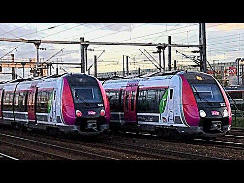 Gare de Stade de France - Saint-Denis - TGV Sud-Est, Duplex, IZY, PBA, PBKA, TMST, e320, z50000, TER