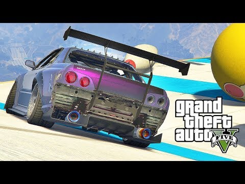 GTA 5 Online Funny Moments - BIG BOWLING Custom Races