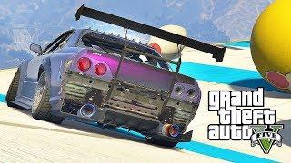 GTA 5 Online Funny Moments - BIG BOWLING Custom Races