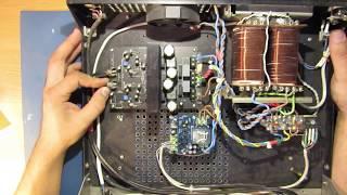 усилитель мощности класса D на микросхеме IRS2092. Схема защиты