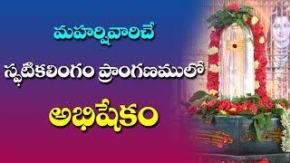 Live  Spatika Shiva Linga Abhishekam By Siddhaguru  Ramaneswaram