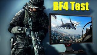 BenQ XL2730z 1440p Monitor Test - Battlefield 4