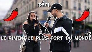 LE PIMENT LE PLUS FORT DU MONDE #2 - 10€ SI TU REUSSI - Micro Trottoir