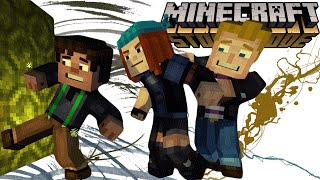 🎉 EPISODE 6 - A PORTAL TO MYSTERY 🎉 |E6.Part-1| - Minecraft Story Mode Indonesia -
