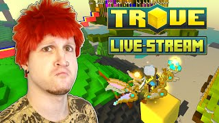 FARMING THE BEST XP IN TROVE! ✪ Trove Live-Stream | Scythe Plays